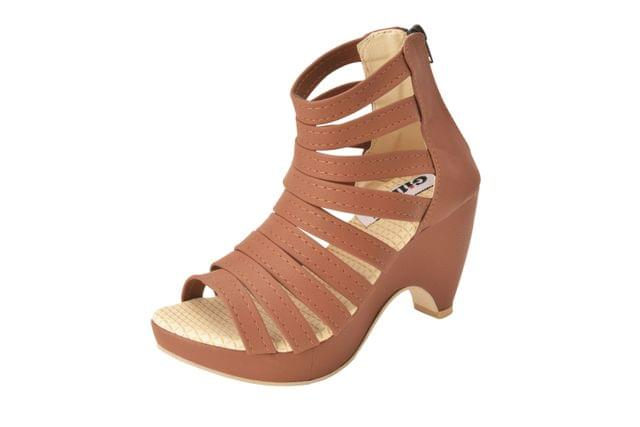 Gillie Women's Block Heel Gladiators