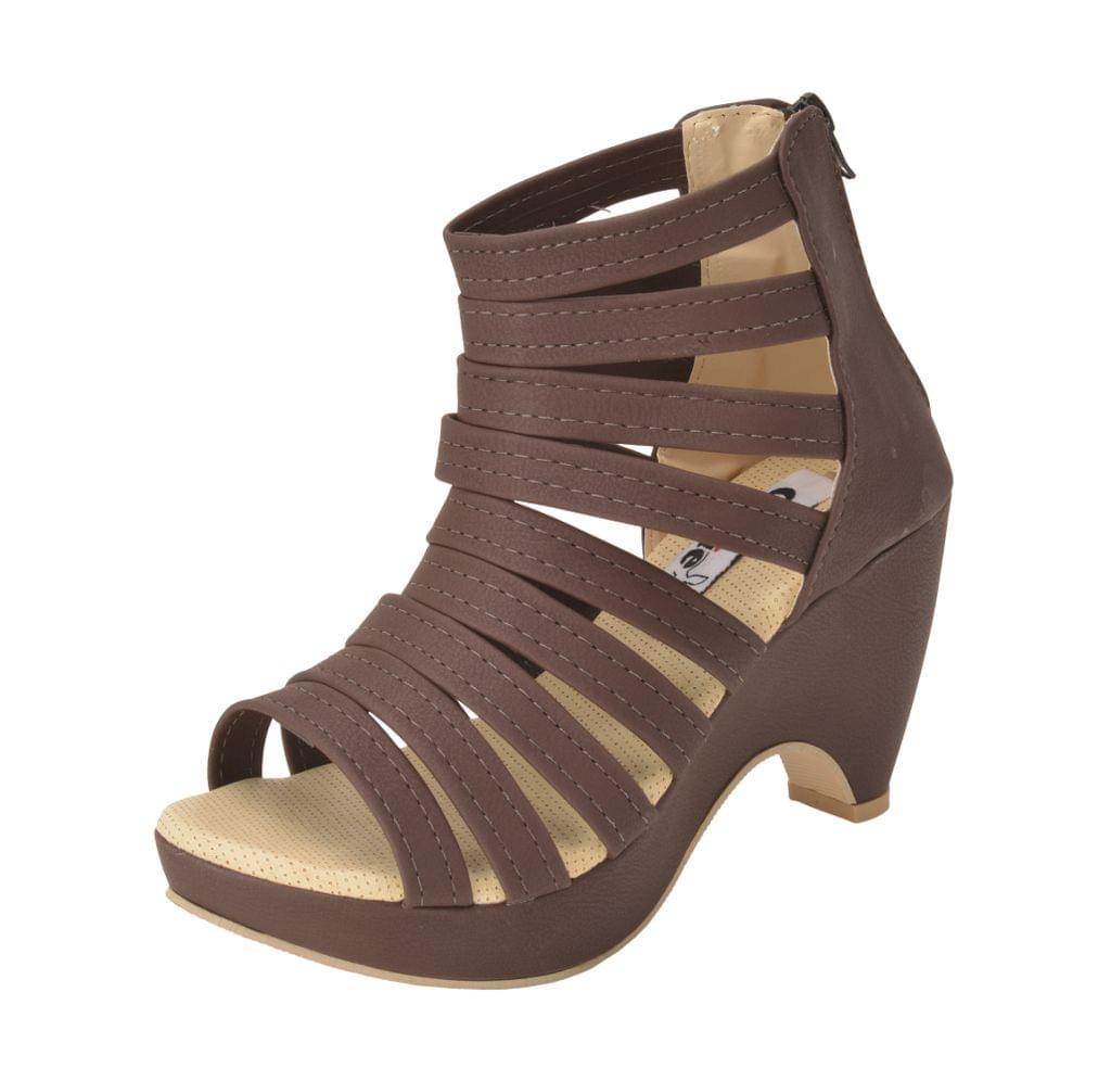 Gillie Women's Block Heel Gladiators