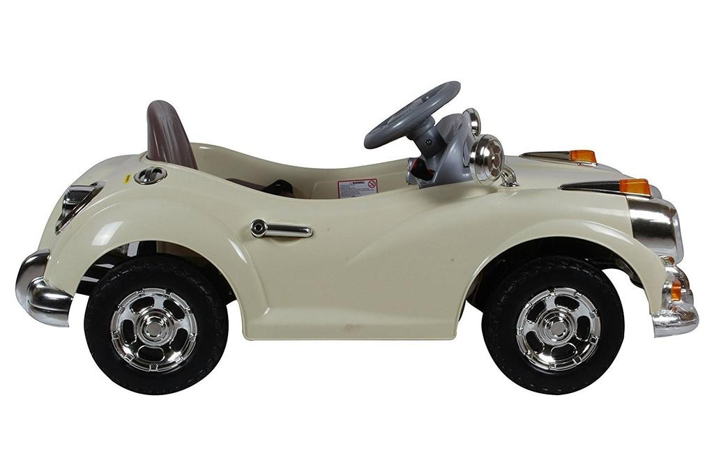 Happy Kids Classic Vintage Ride-On Car with Remote Control