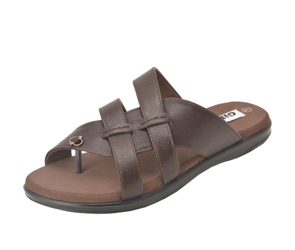 Gillie Men's PU Diabetic & orthopedic Footwear