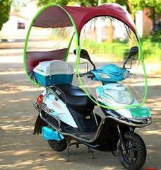 Bike Umbrella Canopy Waterproof Windproof Cover Sunproof