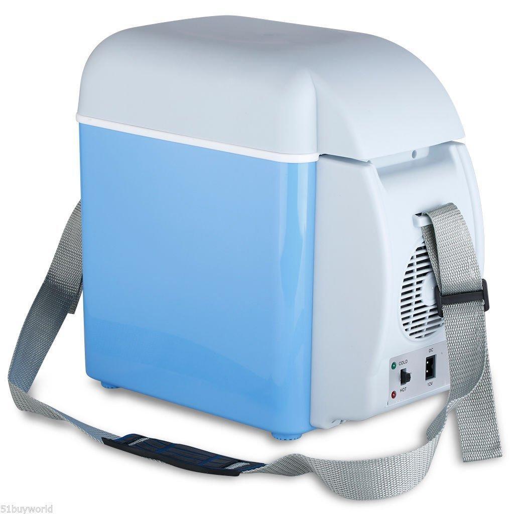7.5 Ltr, Mini Refrigerator for Car with 12V DC