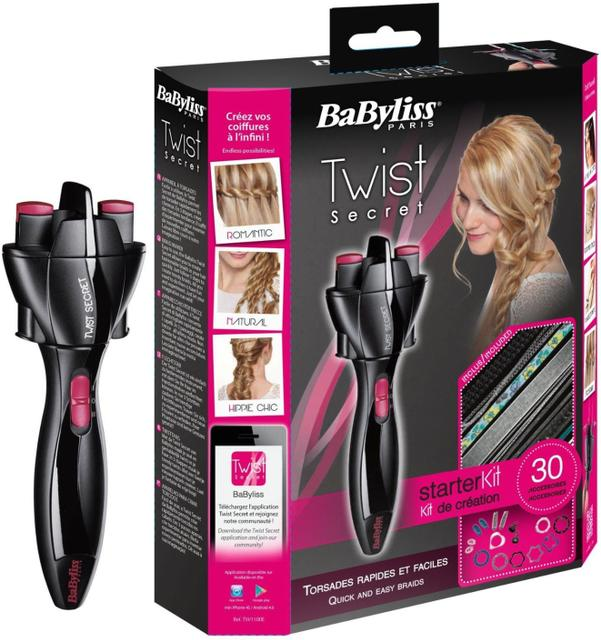 TWIST SECRET Automatic Hair Twister
