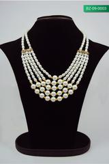 Handcrafted Pearl Necklace (BZ-09-0003)