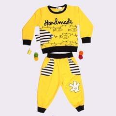Yellow Printed Ba Ba Set