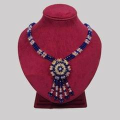 Handcrafted Crystal Necklace (BZ-01-0013)