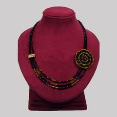 Handcrafted Crystal Necklace (BZ-01-0019)