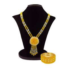 Handcrafted Crystal Necklace Set (BZ-01-0027)