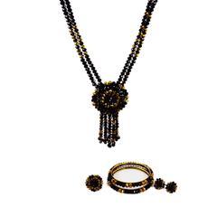 Handcrafted Crystal Necklace Set (BZ-01-0030)