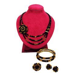 Handcrafted Crystal Necklace Set (BZ-01-0031)