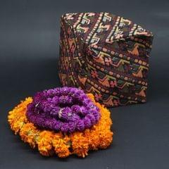 Palpali High Quality Dhaka Topi With Malas