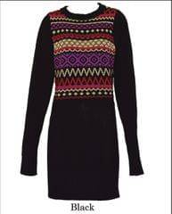 Round Neck Fairible Dress Sweater (LL-16-08A)