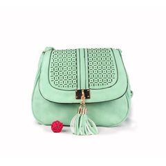 Ladies Light Green Side Bag