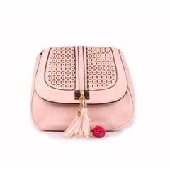 Ladies Baby Pink Side Bag