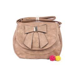 Ladies Appricot Color Bag
