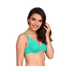 Jockey Paradise Teal Moulded Underwire Bra 1714-01