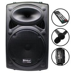 Sikko Portable Trolley Speaker 12 inch (WS)