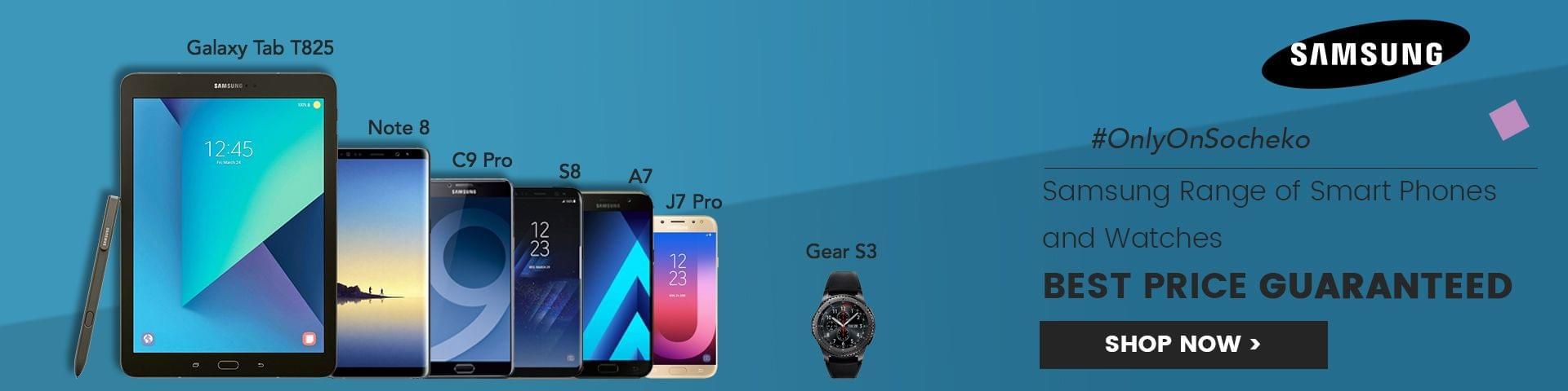 Buy Samsung Smart Phones and Watches