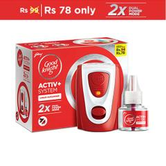 Activ+ Combi Pack, 45 ml, 1 Mosquito Destroyer Machine + 1 Refill