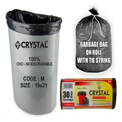 Oxo Biodegradable Garbage Bag On Roll Medium (19X21)