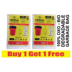 Oxo Biodegradable Garbage Bag - Medium (19X21)Buy 1 Get 1 Free