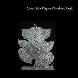 Crafts Of India Silver Filigree (Tarakasi)