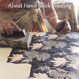 Crafts of India -Hand Block Printing