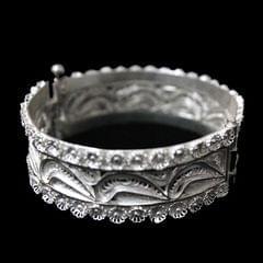 Traditional Silver Filigree Bracelet