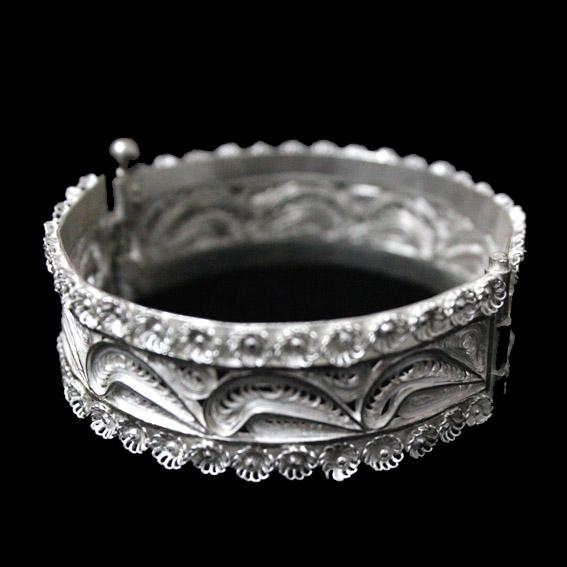 Traditional Silver Filigree Bracelet