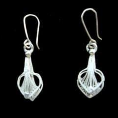 Sweet Silver Filigree Earrings