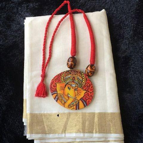 Handpainted Ganesha