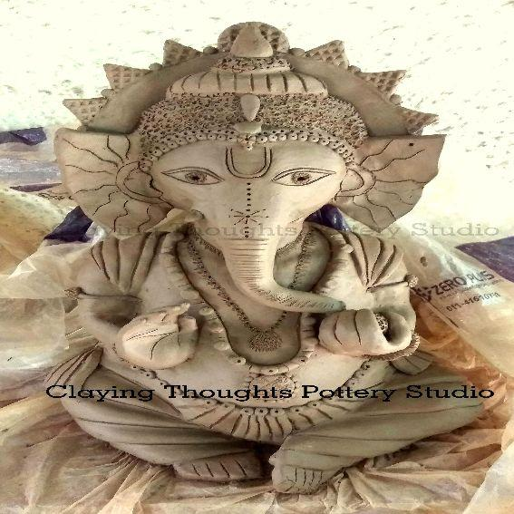 Eco Ganpati by Claying Thoughts