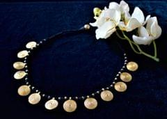Traditional Dhokra Coin Necklace