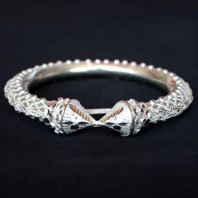 Traditional Silver Filigree Bangle