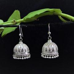 Silver Filigree Jhumki Small