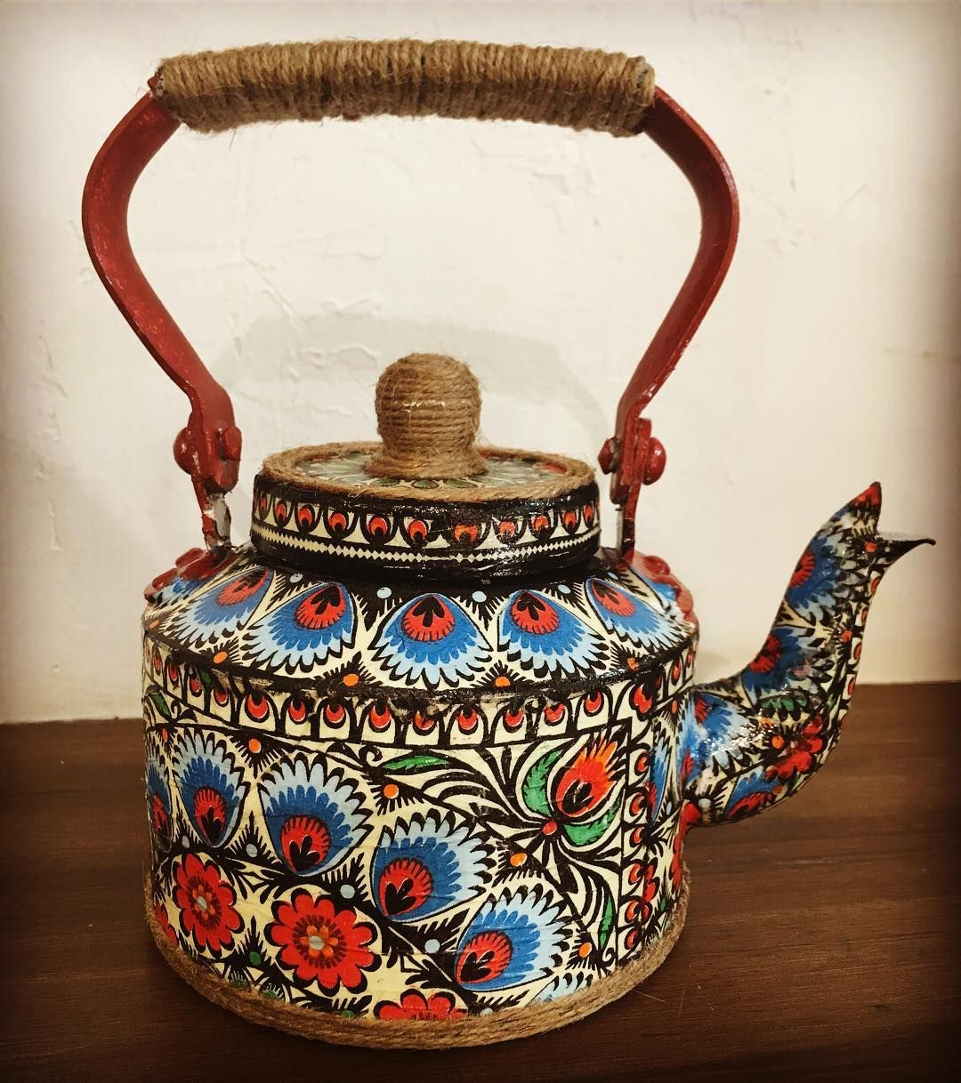 Handcrafted Serving Kettle