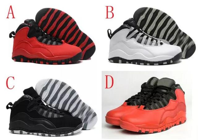 11a1668bced8 Retro 10 Paris NYC CHI Rio LA Hornets City Pack Vivid Pink 10s Men  Basketball Shoes Sneakers ...