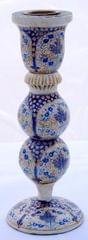 IndicHues Handmade Paper Mache Candle Stand- 6 inch from Kashmir