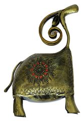 IndicHues Wrought Iron Animal Figurine