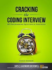 Cracking the Coding Interview, 6ed