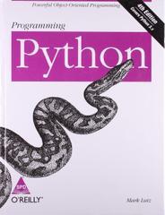 Programming Python, 3ed