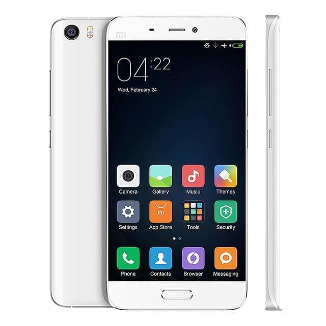 Mi 5 3GB 32GB White Dual SIM Eng/,Arb 1yr UAE Warranty