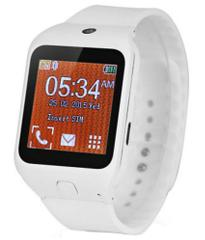 Smart Wrist Mobile with keypad-Decent White
