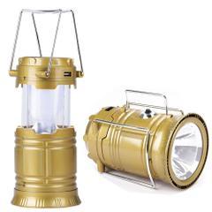 LED Solar Emergency Light Lantern - USB Mobile Charger