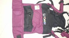 Cozy Bee Rentals - Cookiie Go Black on Plum - Full Buckle