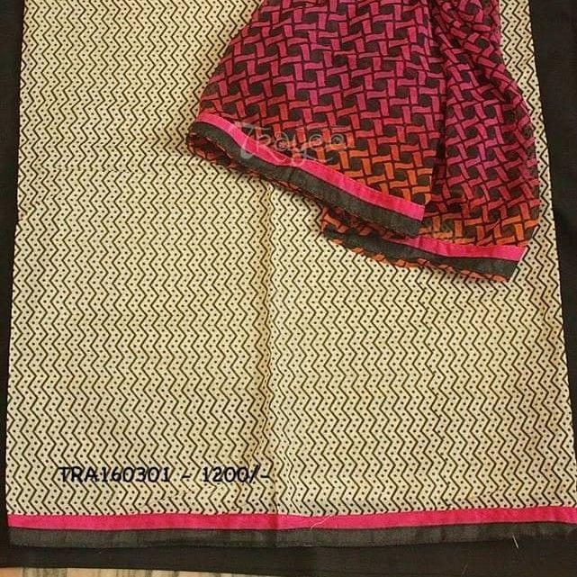 Trayee Black And Pink Printed Set