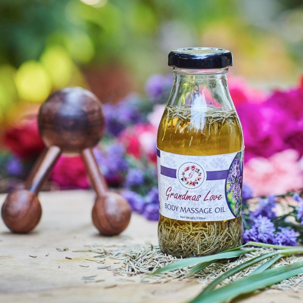 Grandma's Love Rosemary Body Massage oil