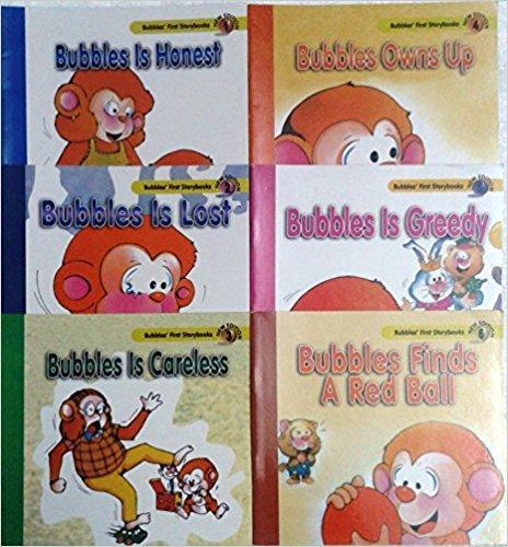 Bubbles Story Books - (Set of 6 Books)