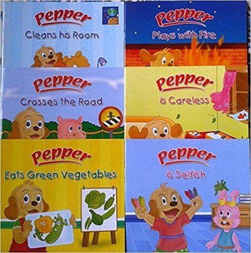 Pepper Series Set 1 (Set of 6 Books)