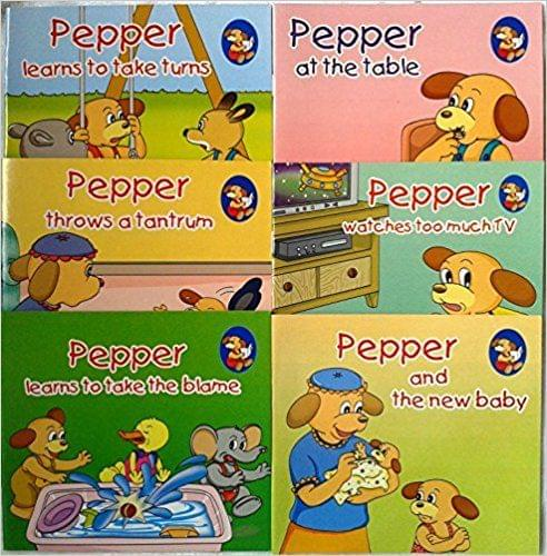 Pepper Series Set 4 (Set of 6 Books)